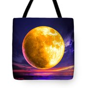 Whole Of The Moon Tote Bag by Robin Moline