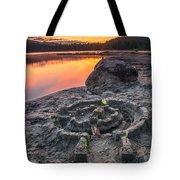 Whonnock Lake Sand Castle Tote Bag