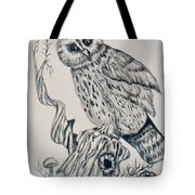 Whooo Are You Tote Bag