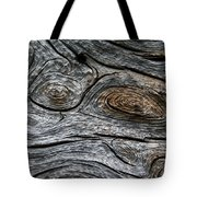 Whorls Of Wood Tote Bag