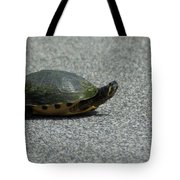 Why Did The Turtle Cross The Road Tote Bag
