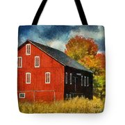 Why Do They Paint Barns Red? Tote Bag