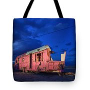 Why Pink Airstream Travel Trailer Tote Bag