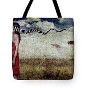 Why Yes Emily I Do Like Giraffes Tote Bag by Andre Giovina