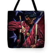 Wi Colored Infantry Sharpshooter - Oil Tote Bag