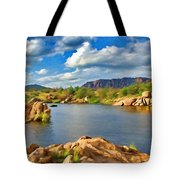 Wichita Mountains Tote Bag