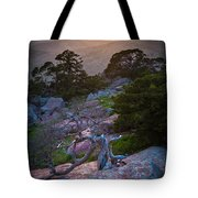 Wichita Mountains Sunset Tote Bag