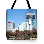 Wichita Skyline Tote Bag
