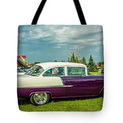 Wicked 1955 Chevy Profile Tote Bag