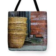 Wicker Baskets Tote Bag