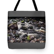 A River In The Wicklow Mountains, Ireland. Vision # 2 Tote Bag