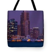 Wide Panoramic Of Scenic San Diego Tote Bag
