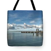 Wide View Of Kingscote Bay Tote Bag