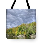 Widewater Clouds Tote Bag
