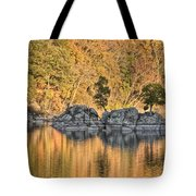 Widewater Fall Color Tote Bag