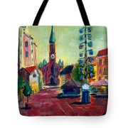 Wienerplatz Study Tote Bag