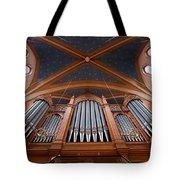 Wiesbaden Marktkirche Organ Tote Bag