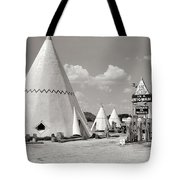 Wigwam Village #2 Coca-cola Sign Marion Post Wolcott  Cave City Kentucky July 1940-2014 Tote Bag