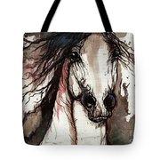 Wild Arabian Horse Tote Bag