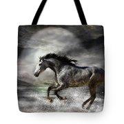Wild As The Sea Tote Bag by Carol Cavalaris