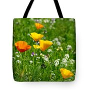 Poppies 3 - Wild At Heart Tote Bag