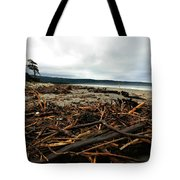 Wild Beach New Zealand Tote Bag