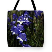 Wild Blue Bells Tote Bag