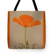 Wild California Poppy No 2 Tote Bag