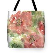 Wild Camellia 1 Tote Bag