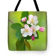 Wild Cherry Blossoms Tote Bag