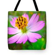 Wild Cosmos Flower Tote Bag
