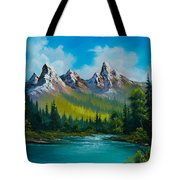 Wild Country  Tote Bag by C Steele