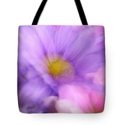 Wild Crazy Daisy Abstract Tote Bag
