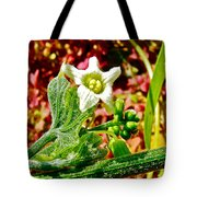 Wild Cucumber In Park Sierra Near Coarsegold-california  Tote Bag