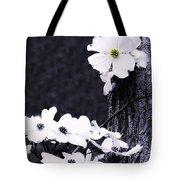 Wild Dogwood Blooms Tote Bag