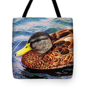 Wild Duck  Tote Bag