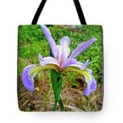 Wild Flag - Iris Versicolor Tote Bag