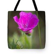 Wild Flower Bloody Geranium Tote Bag