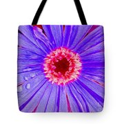 Wild Flower Close Up Tote Bag
