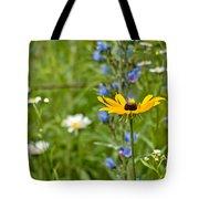 Wild Flower Delight Tote Bag