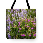 Wild Flowers Display Tote Bag