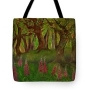 Wild Foxgloves Tote Bag