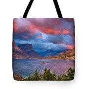 Wild Goose Island Overlook September Sunrise Tote Bag
