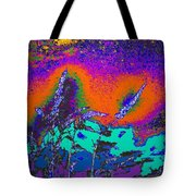Wild Grasses And Sunset Tote Bag