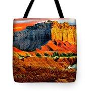 Wild Horse Butte Utah Tote Bag
