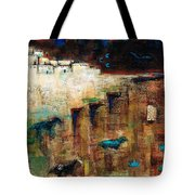 Wild Horse Canyon Tote Bag