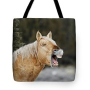 Wild Horse Chuckle Tote Bag