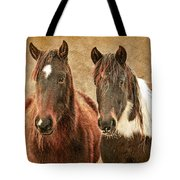 Wild Horse Pair Tote Bag