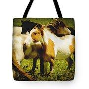 Wild Horses In California Series 14 Tote Bag
