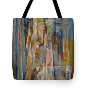 Wild Horses Abstract Tote Bag